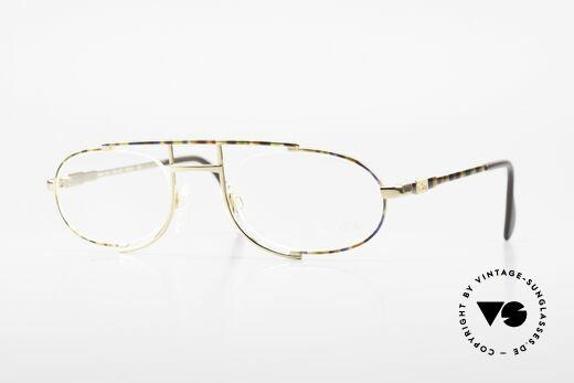 Cazal 753 Rare 1990's Designer Glasses Details