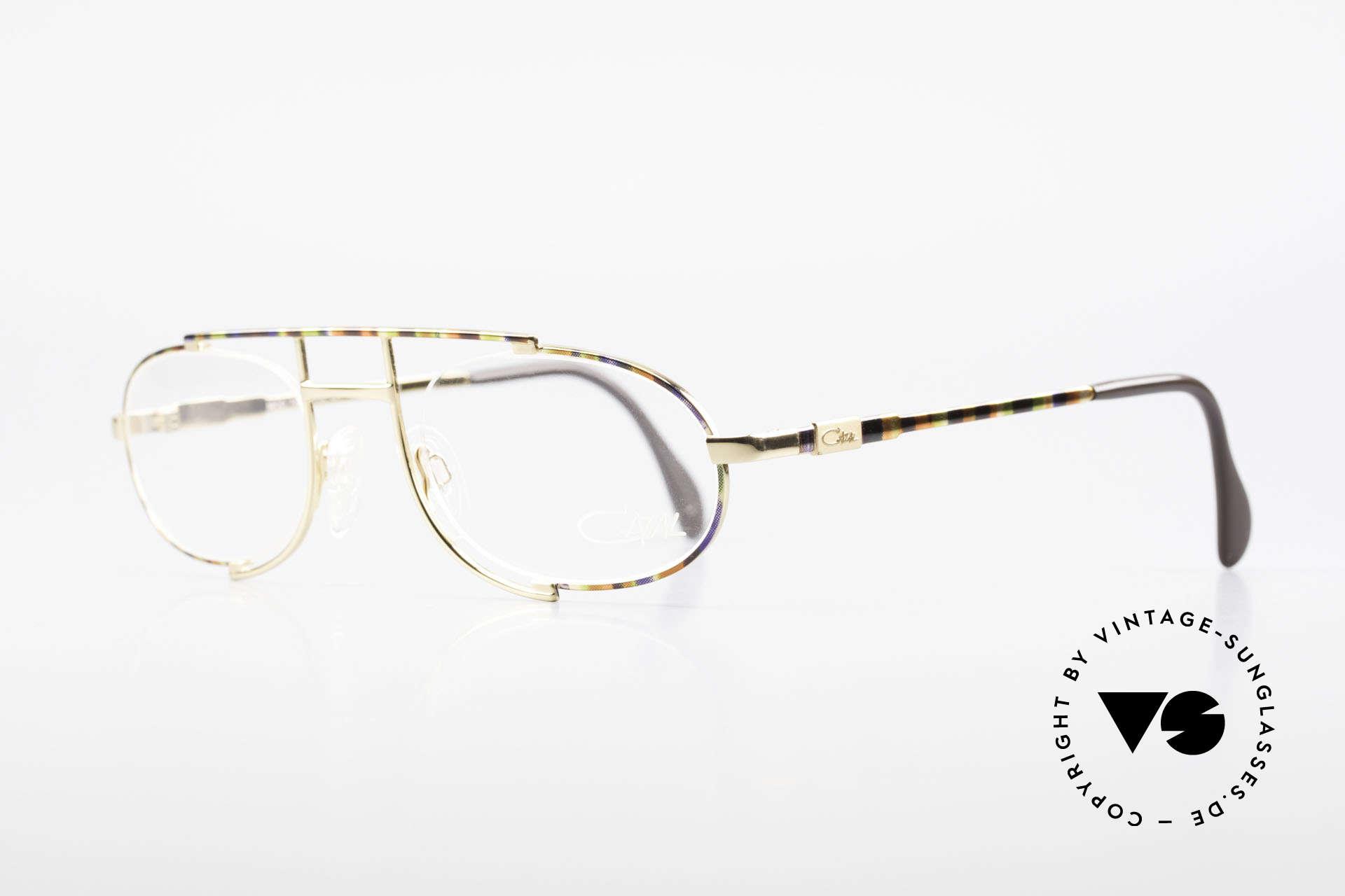 Cazal 753 Rare 1990's Designer Glasses, a true eye-catcher designed by Mr. CAri ZALloni, Made for Men