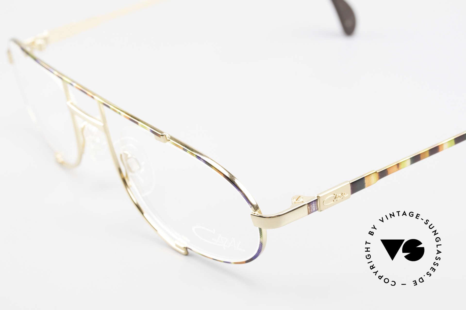 Cazal 753 Rare 1990's Designer Glasses, high-grade craftsmanship (frame made in Germany), Made for Men