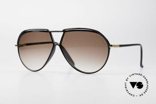 Yves Saint Laurent 8129 Y22 70's Aviator Sunglasses Details