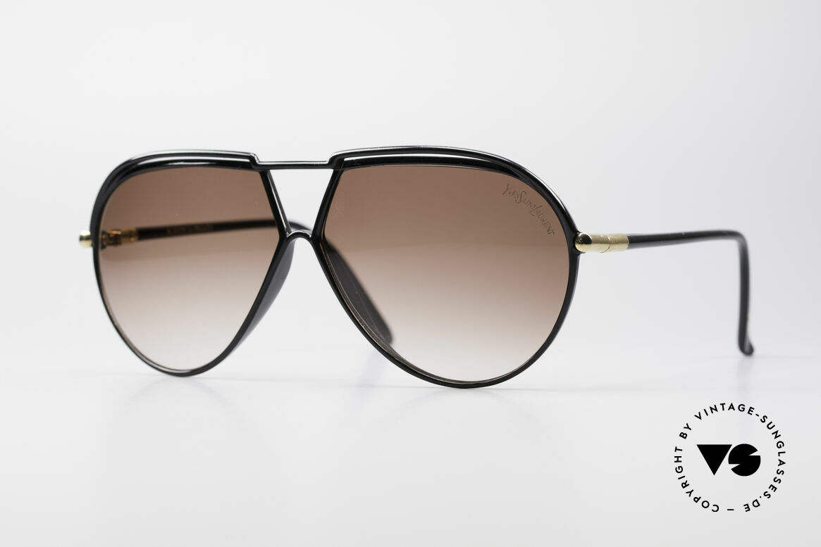Yves Saint Laurent 8129 Y22 70's Aviator Sunglasses