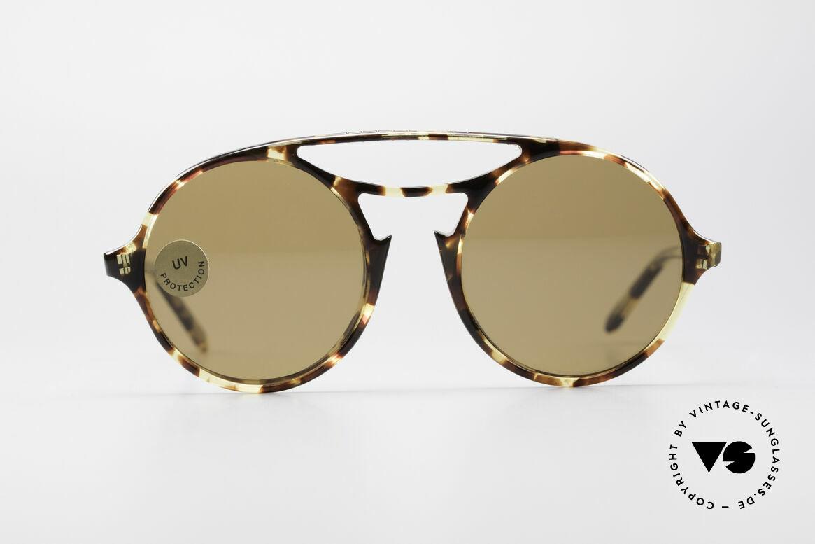 Persol 650 Ratti Extraordinary 80's Sunglasses, remarkable frame style by vintage Persol RATTI, Made for Men and Women