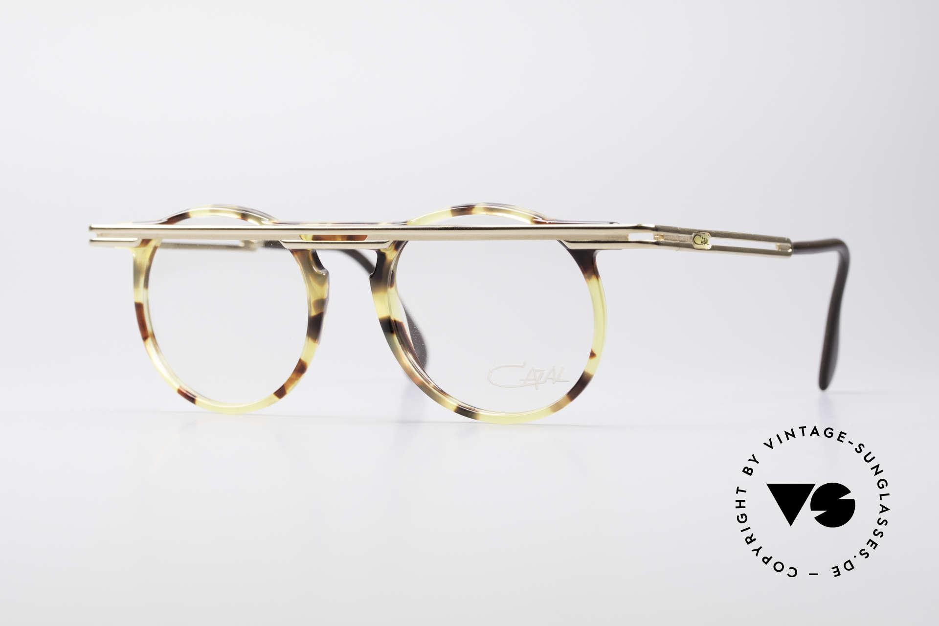 Cazal 648 True 90's Cari Zalloni Glasses, extraordinary CAZAL vintage eyeglasses from 1990, Made for Men and Women