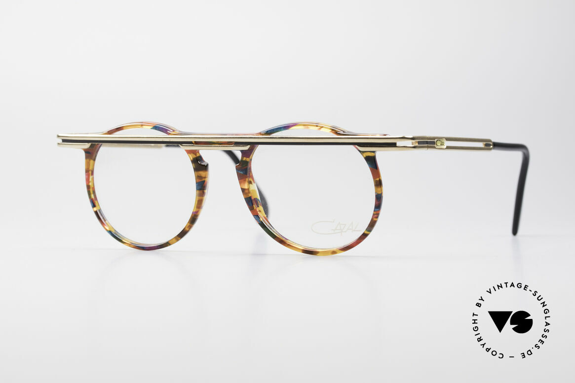 Cazal 648 Original Cari Zalloni Glasses, extraordinary CAZAL vintage eyeglasses from 1990, Made for Men and Women