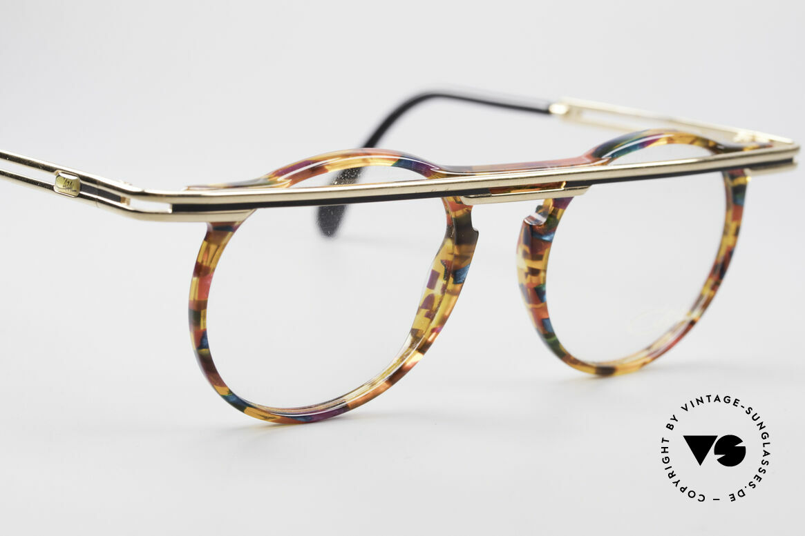 Cazal 648 Original Cari Zalloni Glasses, unworn, NOS (like all our rare vintage Cazal glasses), Made for Men and Women