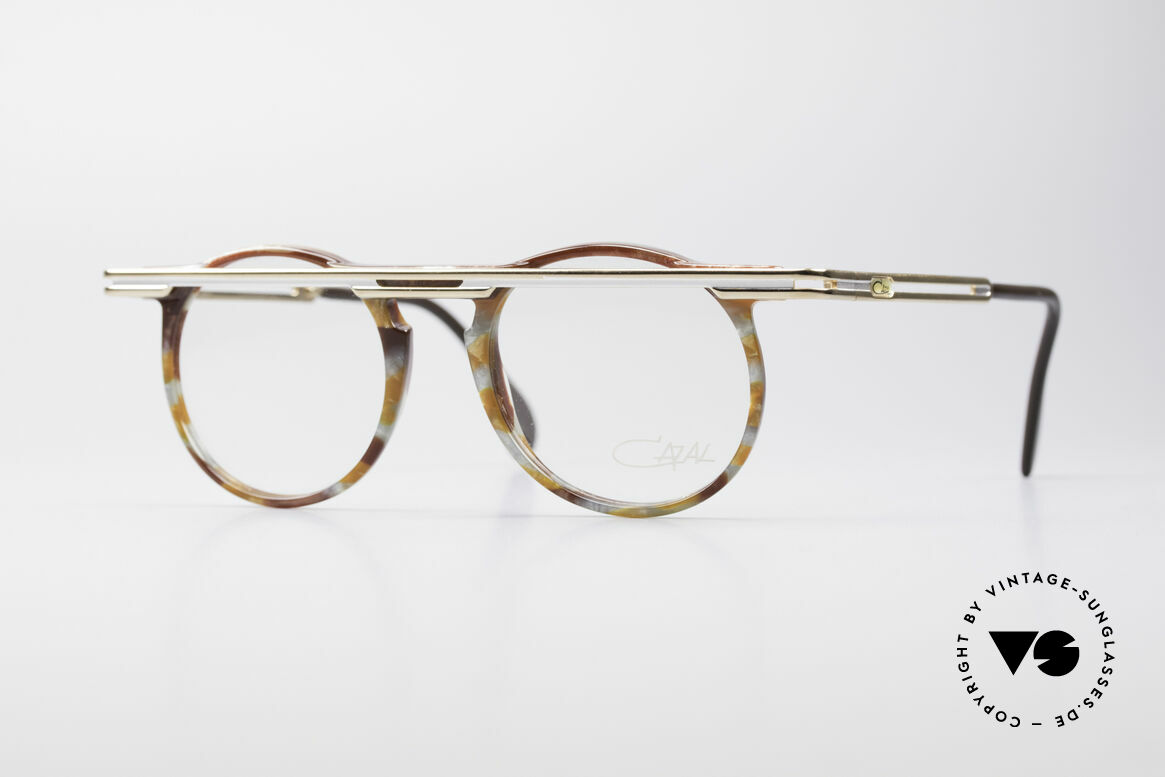 Cazal 648 90's Cari Zalloni Vintage Glasses, extraordinary CAZAL vintage eyeglasses from 1990, Made for Men and Women