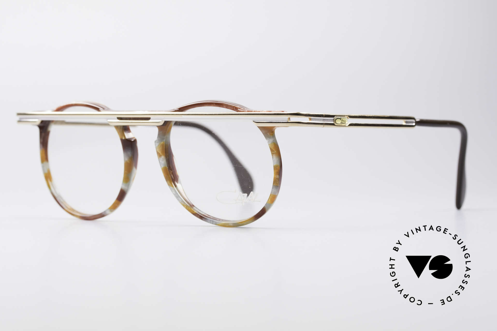 Cazal 648 90's Cari Zalloni Vintage Glasses, extroverted frame construction with unique coloring, Made for Men and Women