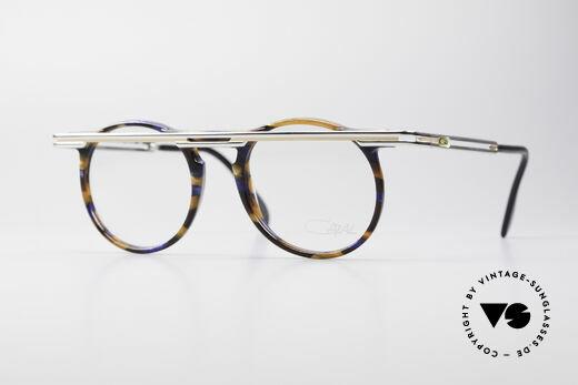 Cazal 648 Cari Zalloni 90's Eyeglasses Details