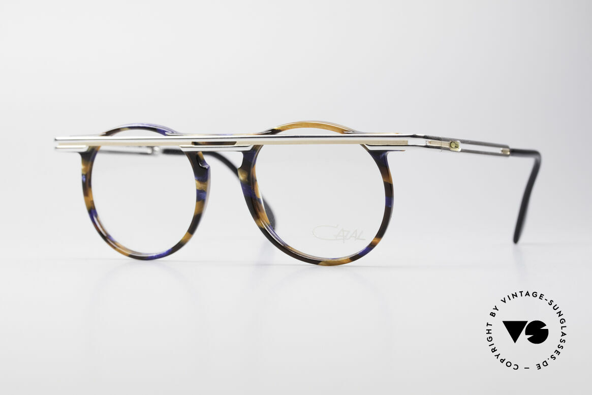 Cazal 648 Cari Zalloni 90's Eyeglasses, extraordinary CAZAL vintage eyeglasses from 1990, Made for Men and Women