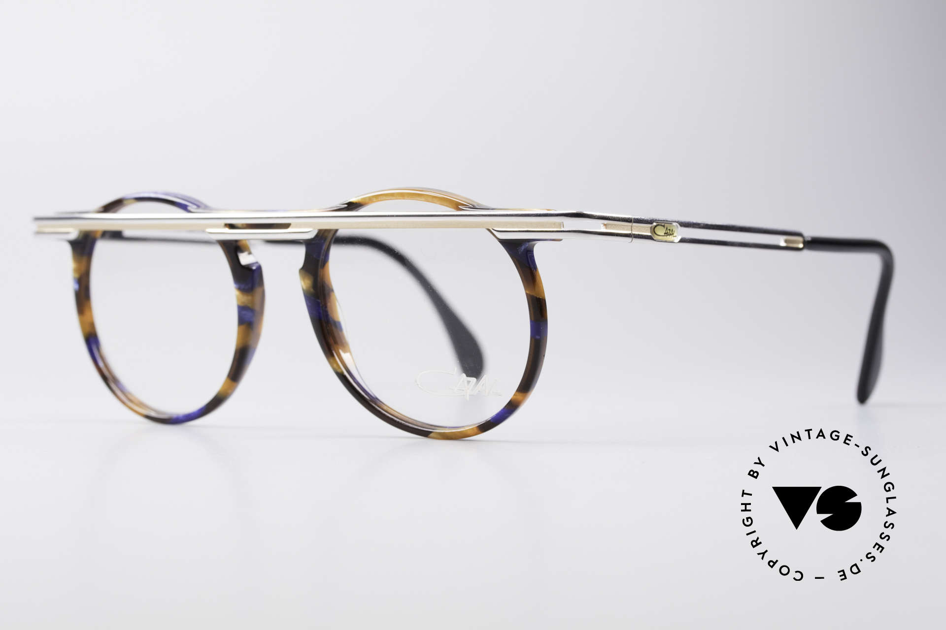 Cazal 648 Cari Zalloni 90's Eyeglasses, extroverted frame construction with unique coloring, Made for Men and Women