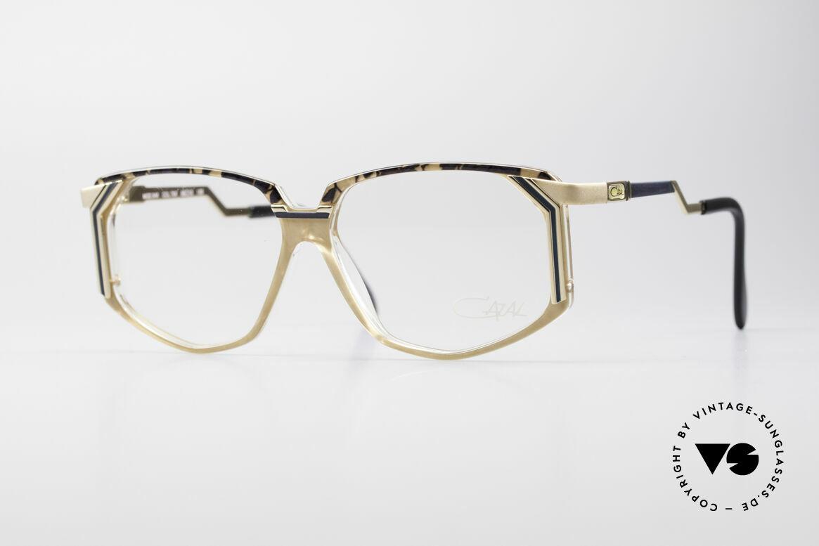 Cazal 346 Hip Hop 90's Designer Eyeglasses, creative eyewear design by CAZAL (from app. 1990), Made for Men and Women