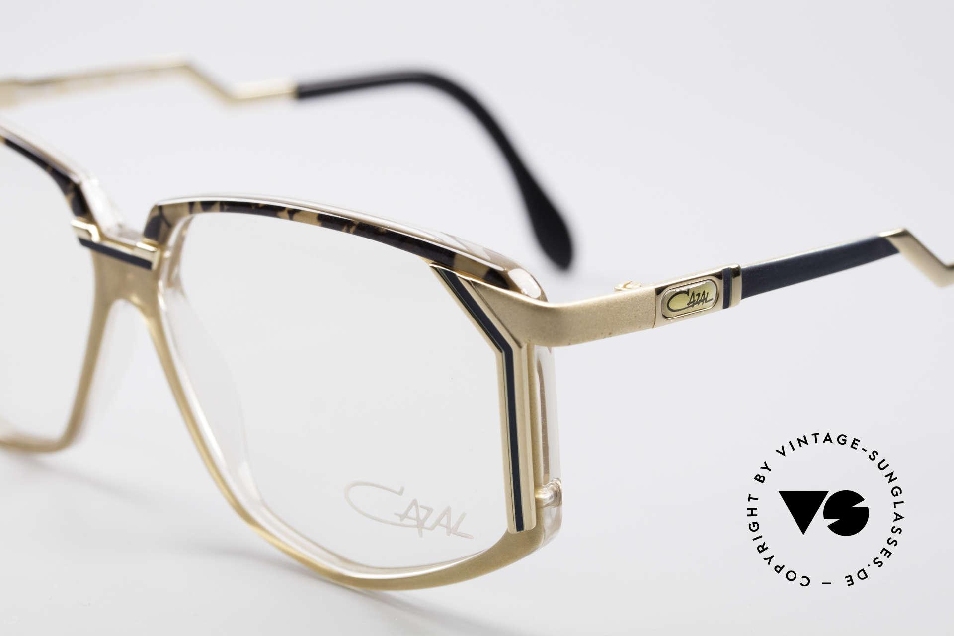 Cazal 346 Hip Hop 90's Designer Eyeglasses, never worn (like all of our vintage Cazal eyeglasses), Made for Men and Women
