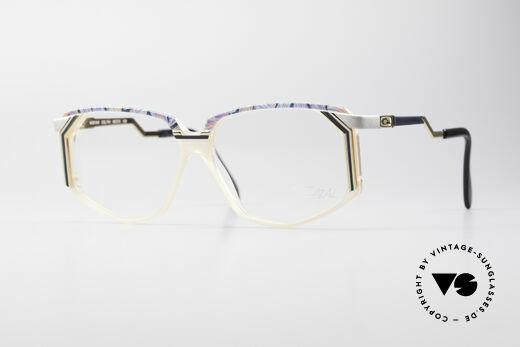 Cazal 346 Old Hip Hop Vintage Glasses Details
