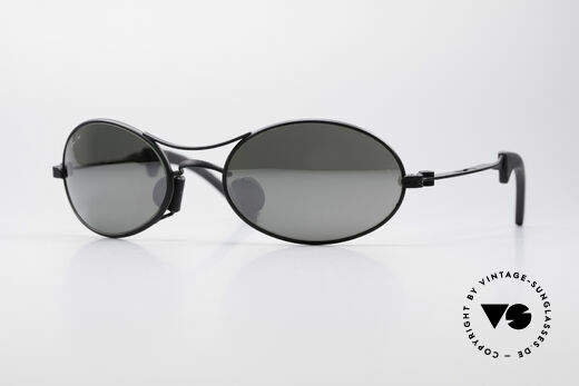 12af739a56 Ray Ban Orbs 9 Base Oval Silver Mirror B L USA Shades Details