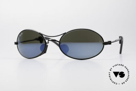Ray Ban Orbs 9 Base Oval Blue Mirror B&L USA Shades Details
