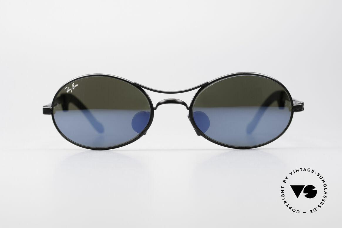 Ray Ban Orbs 9 Base Oval Blue Mirror B&L USA Shades