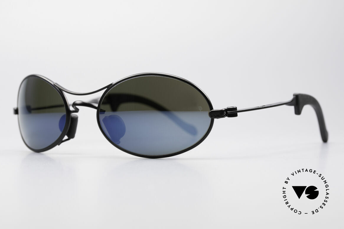 Ray Ban Orbs 9 Base Oval Blue Mirror B&L USA Shades, one of the last Ray Ban models, which B&L ever made, Made for Men