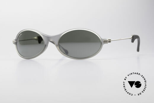 Ray Ban Orbs Oval Combo Silver Mirror B&L USA Shades Details