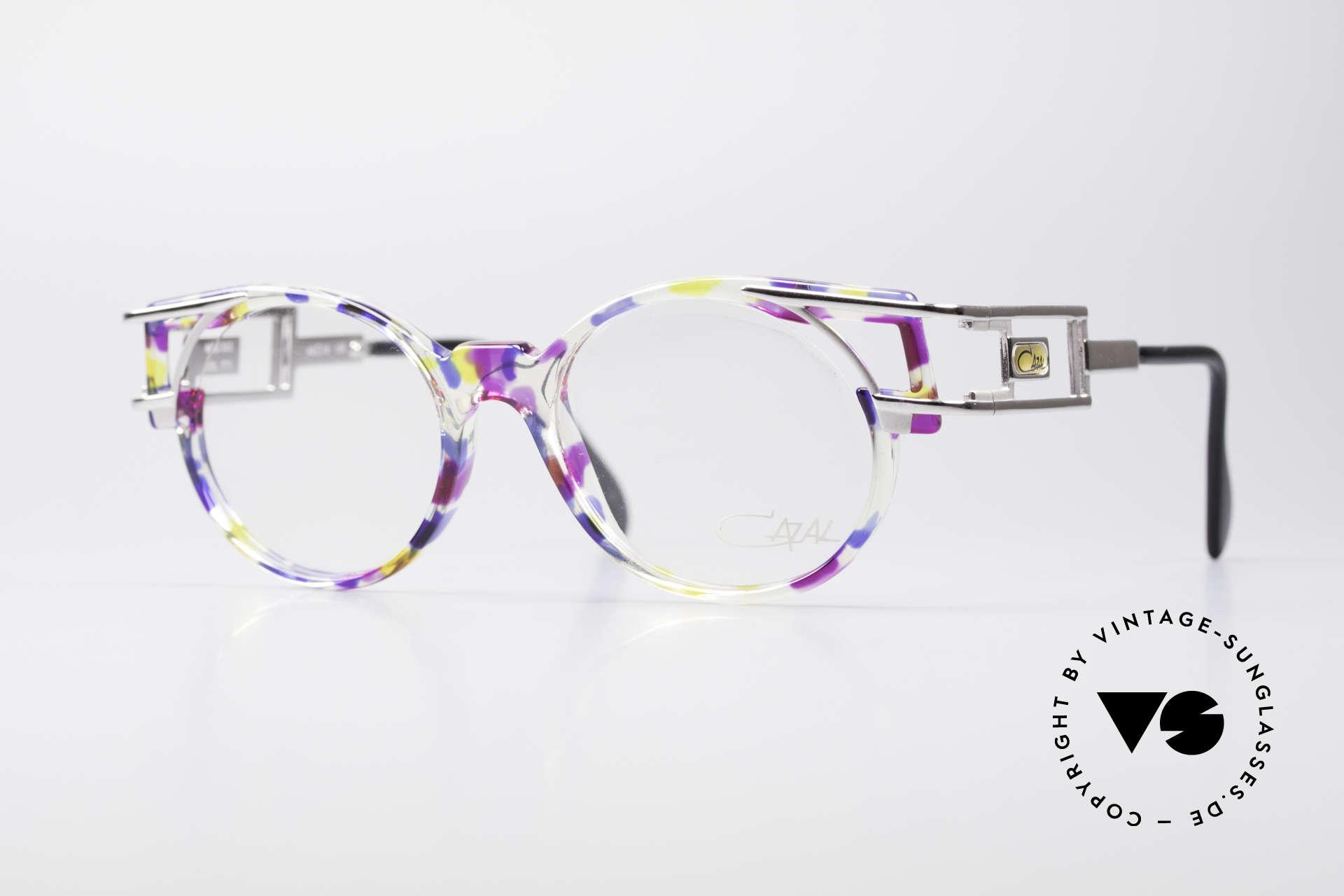 Cazal 353 Old School Hip Hop Frame, true vintage Cazal designer eyeglass-frame from 1991, Made for Men and Women