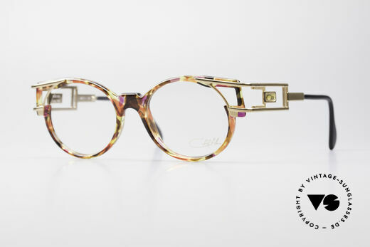 Cazal 353 Old School Hip Hop Eyeglasses Details