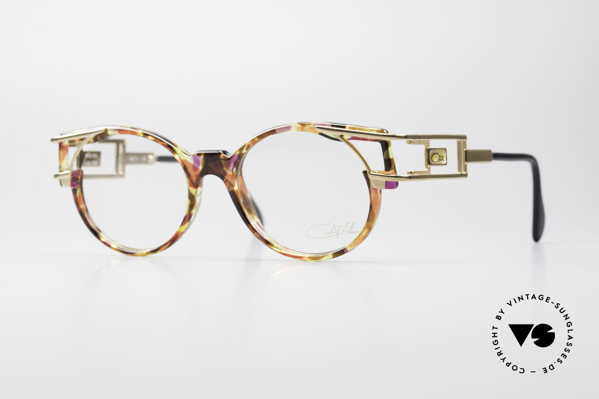 Cazal 353 Old School Hip Hop Eyeglasses, true vintage Cazal designer eyeglass-frame from 1991, Made for Men and Women