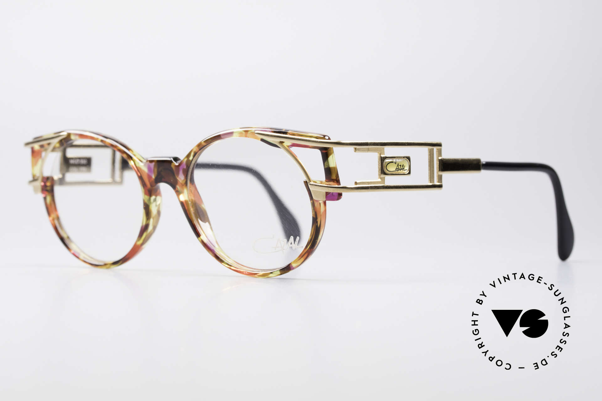 Cazal 353 Old School Hip Hop Eyeglasses, temple design is identical to the legendary Cazal 958, Made for Men and Women
