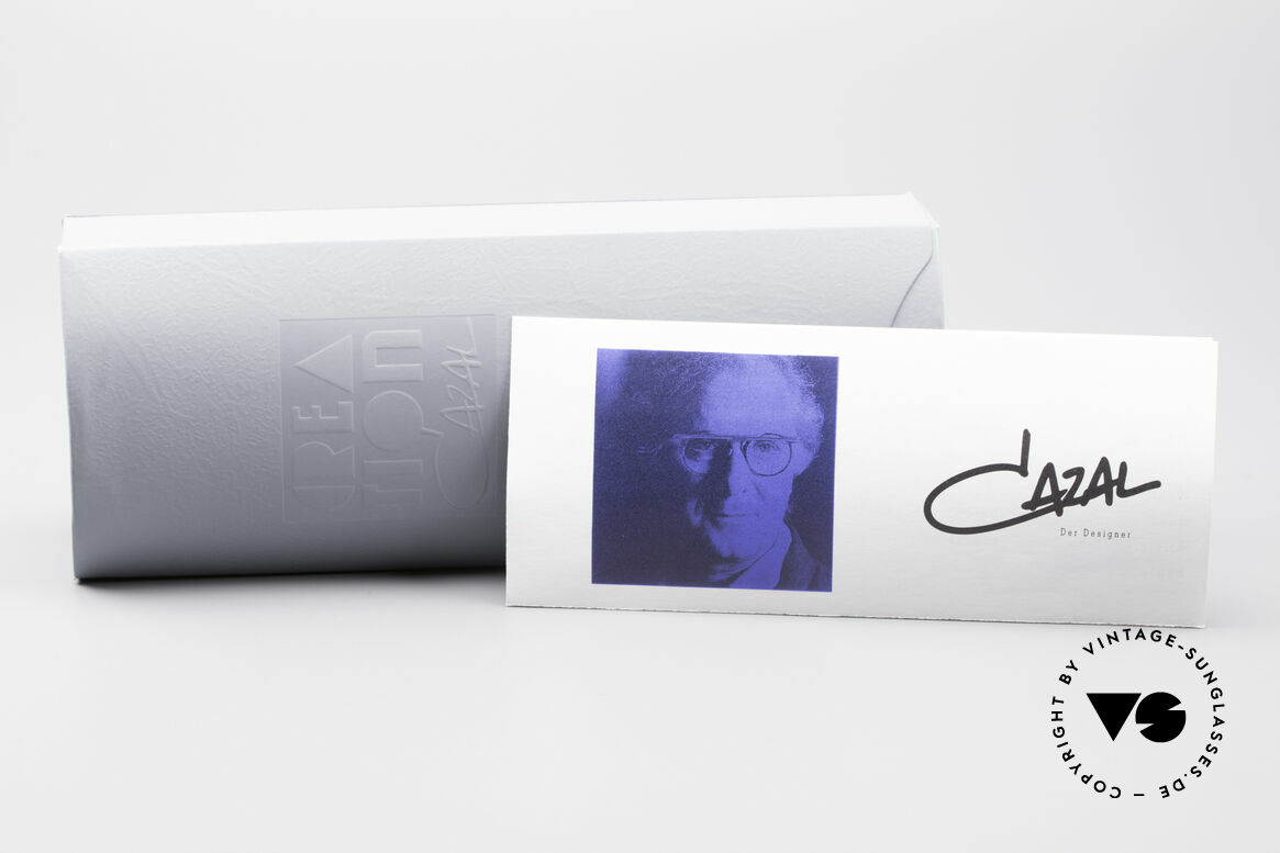 Cazal 353 Old School Hip Hop Eyeglasses, NO RETRO EYEGLASSES, but a 27 years old ORIGINAL, Made for Men and Women