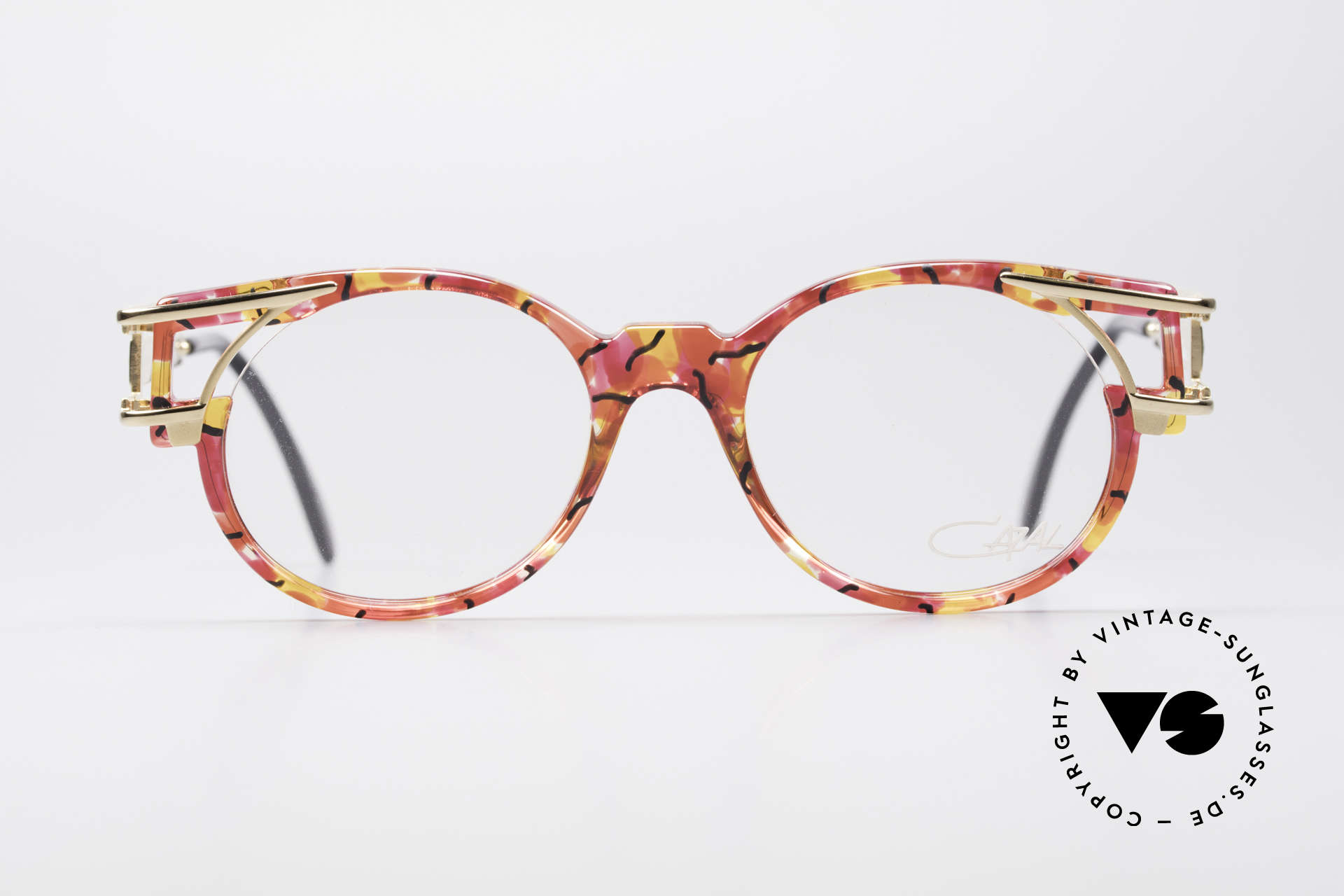Cazal 353 90s Old School HipHop Glasses, at that time, the HIP-HOP eyeglasses par excellence, Made for Men and Women
