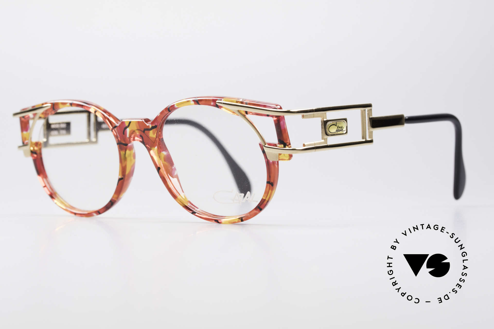 Cazal 353 90s Old School HipHop Glasses, temple design is identical to the legendary Cazal 958, Made for Men and Women