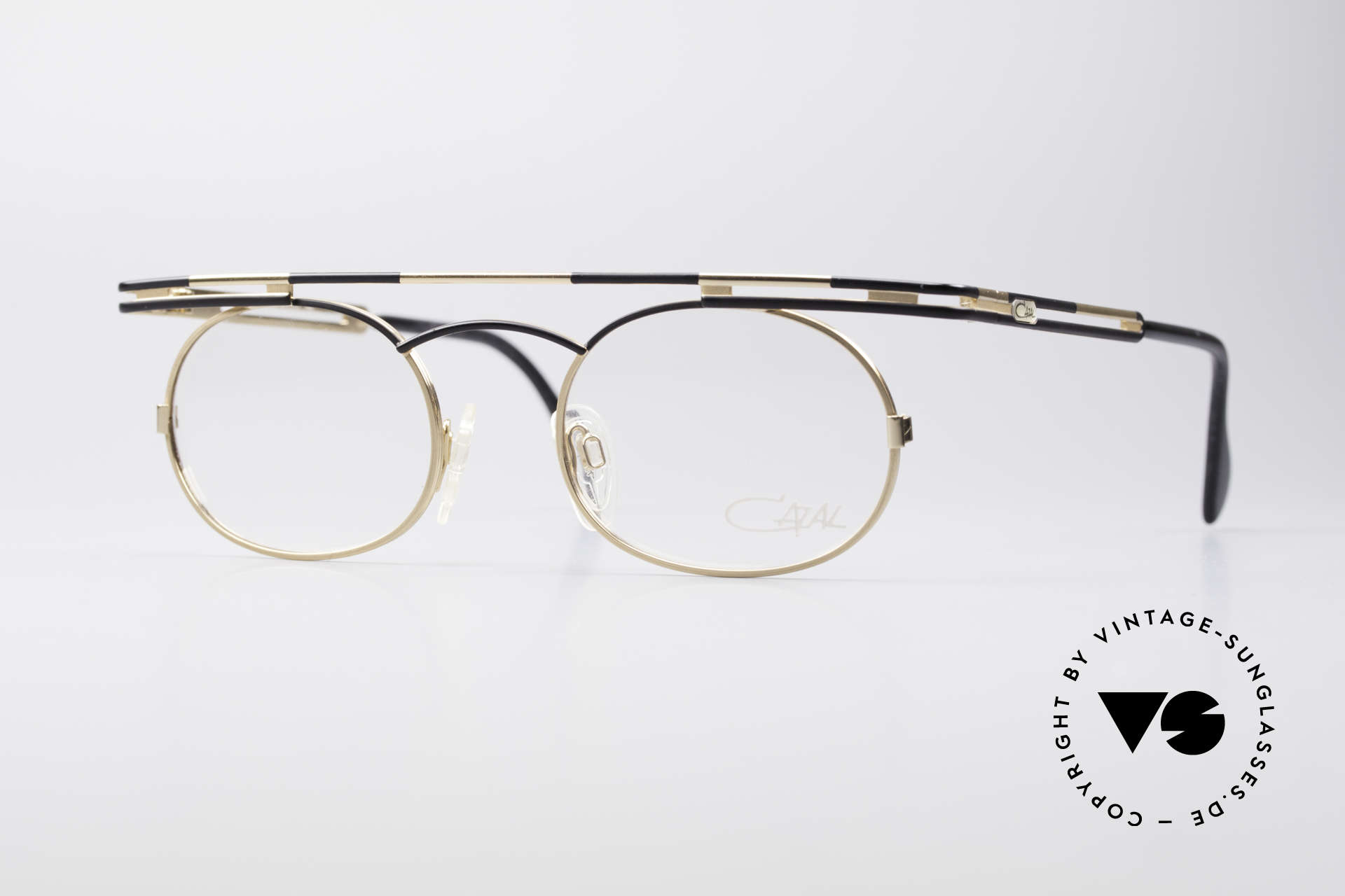 Cazal 761 Vintage Frame NO Retro Glasses, expressive CAZAL vintage eyeglasses from app. 1997, Made for Men and Women