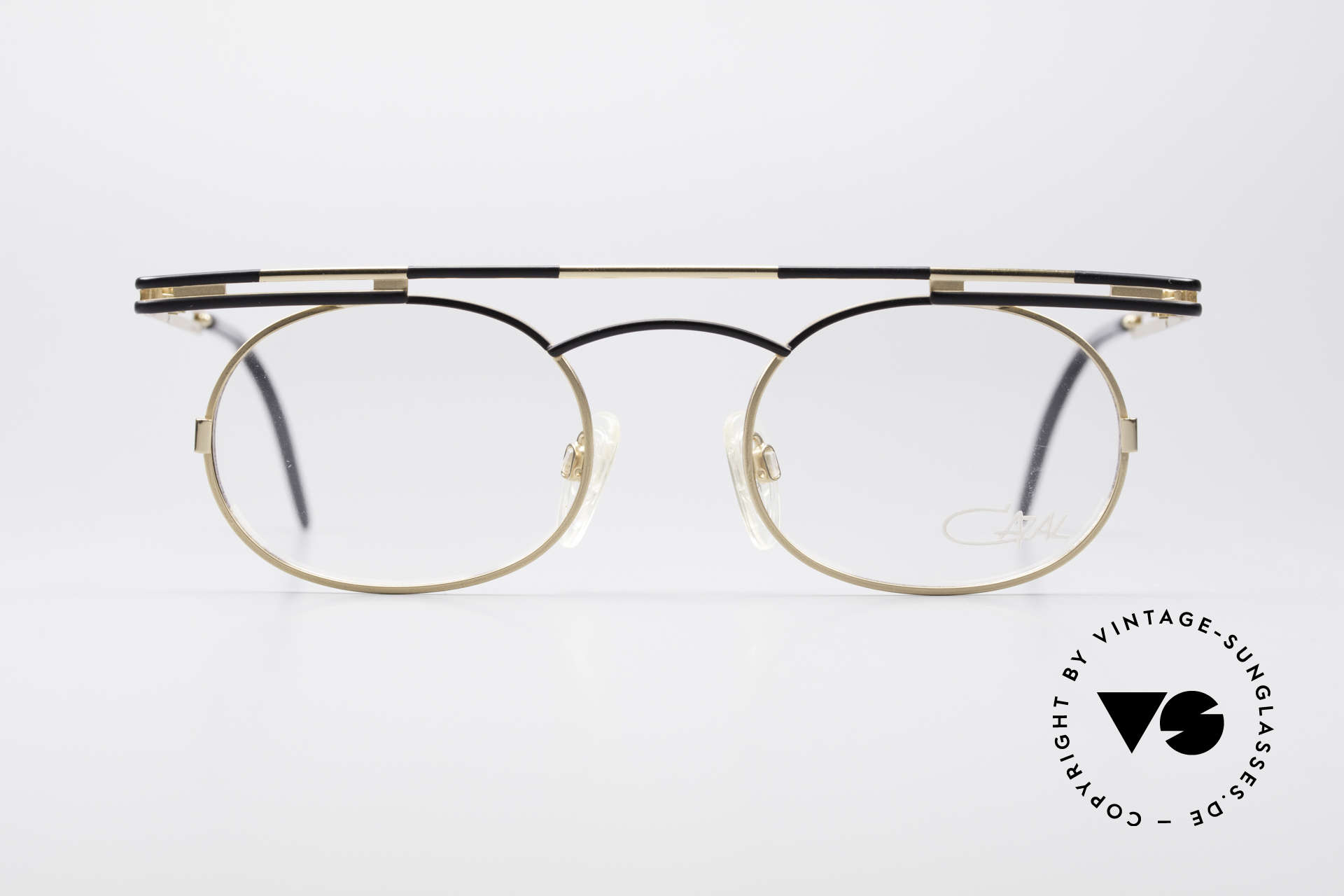 Cazal 761 Vintage Frame NO Retro Glasses, angular & round at the same time; a real eye-catcher, Made for Men and Women