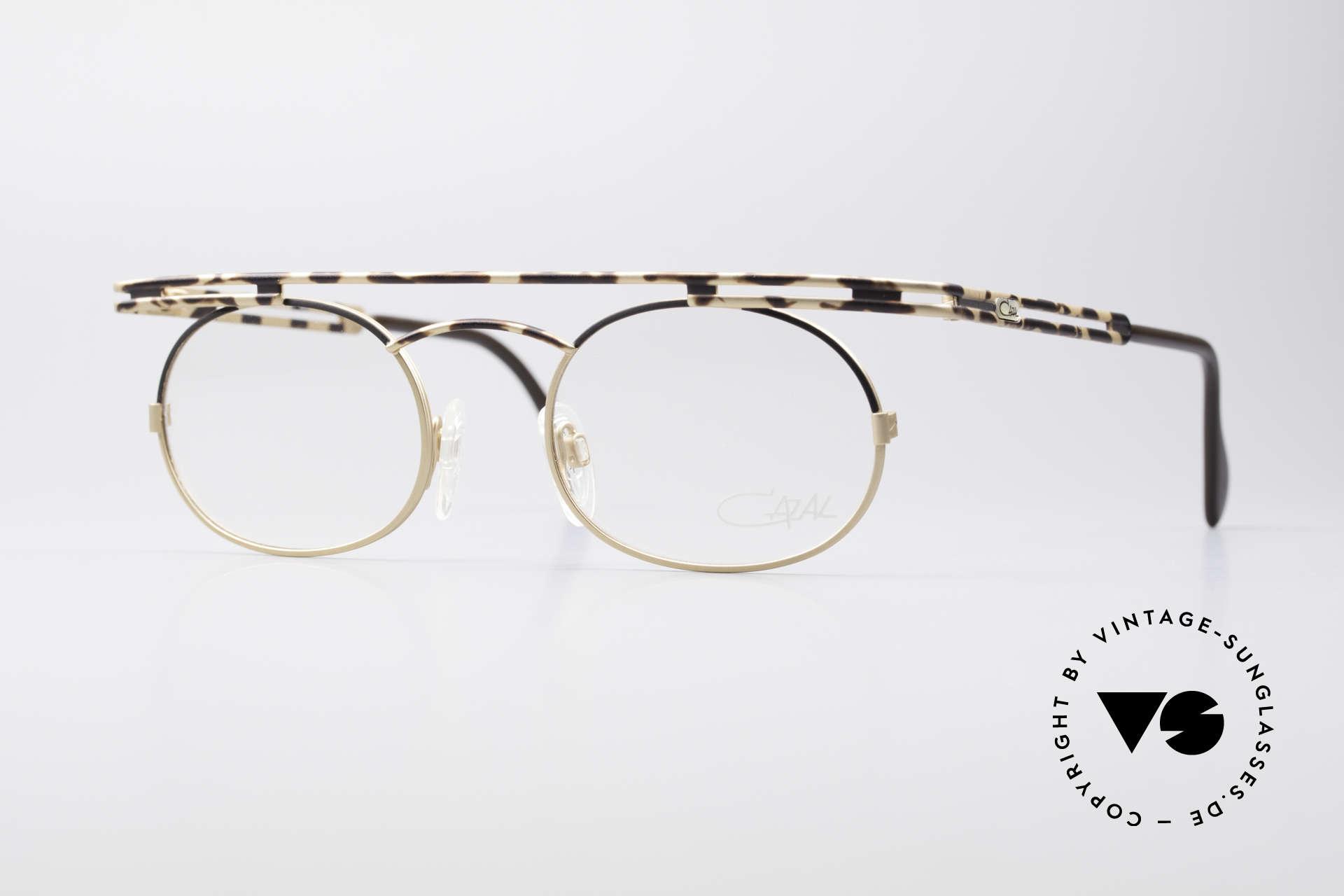 Cazal 761 NO Retro Glasses Vintage Frame, expressive CAZAL vintage eyeglasses from app. 1997, Made for Men and Women