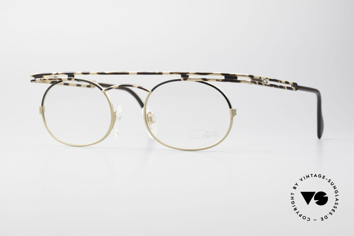 Cazal 761 NO Retro Glasses Vintage Frame, expressive CAZAL vintage eyeglasses from app. 1997, Made for Men and Women