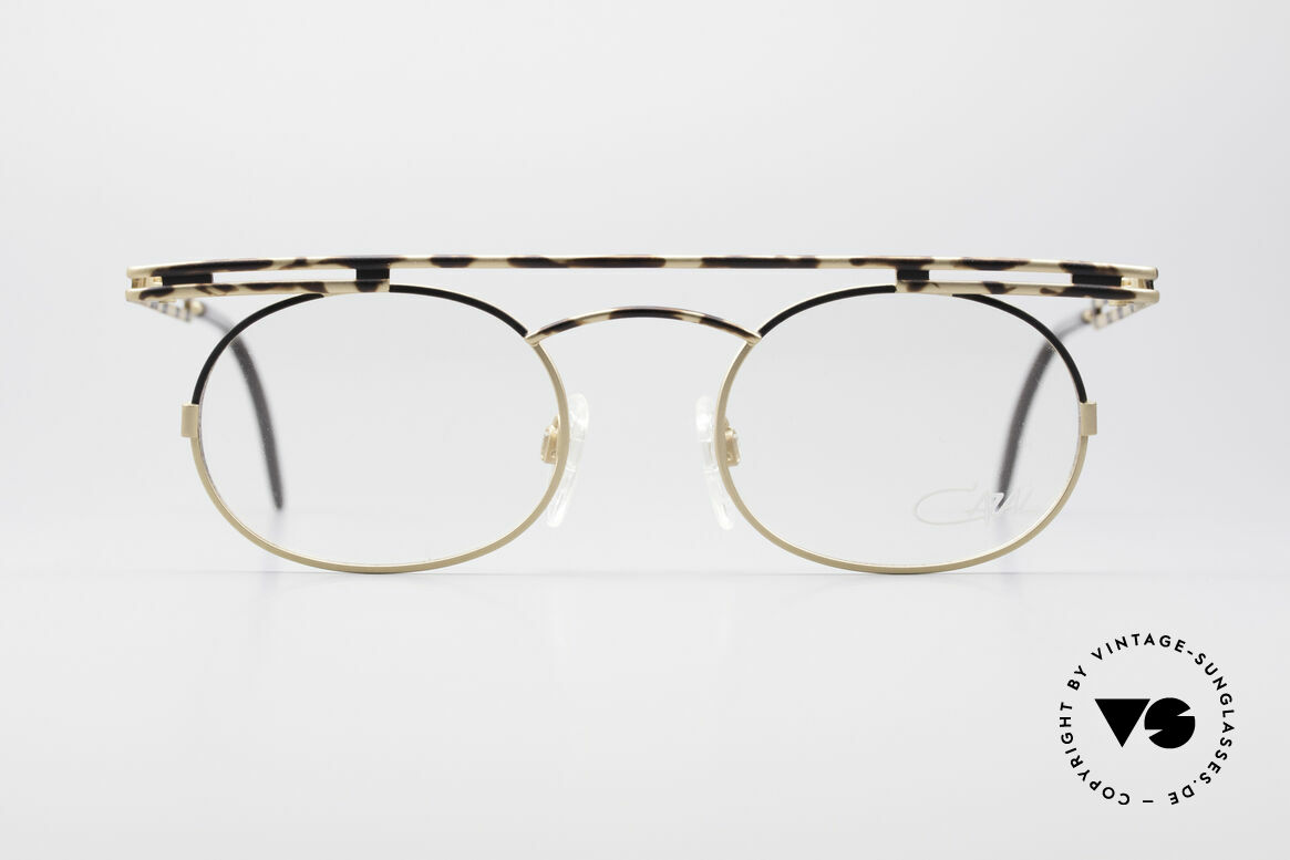 Cazal 761 NO Retro Glasses Vintage Frame, angular & round at the same time; a real eye-catcher, Made for Men and Women