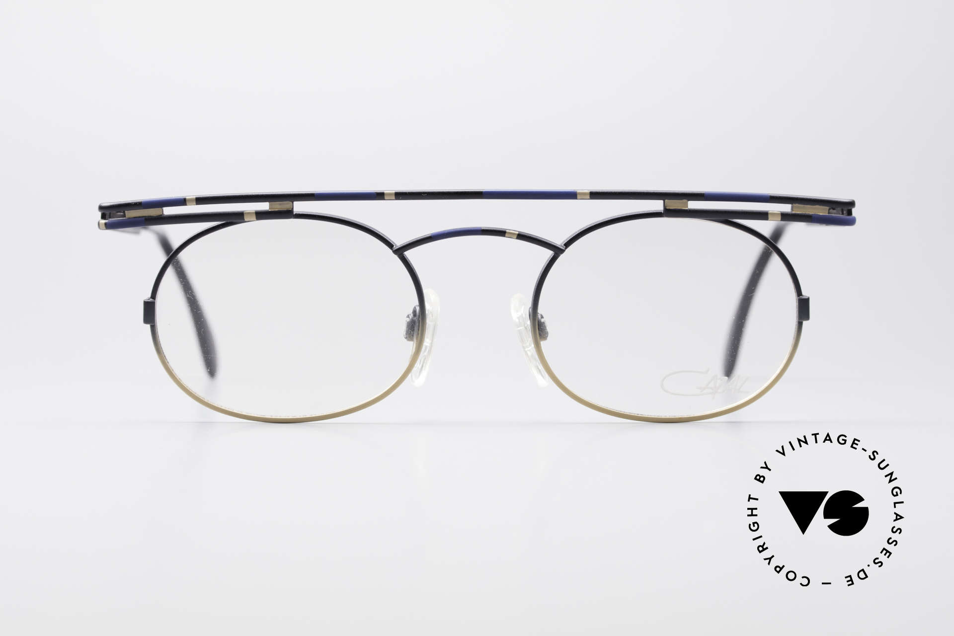 Cazal 761 True Vintage Frame NO Retro, angular & round at the same time; a real eye-catcher, Made for Men and Women