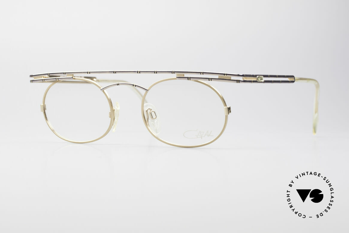 Cazal 761 NO Retro Glasses True Vintage, expressive CAZAL vintage eyeglasses from app. 1997, Made for Men and Women
