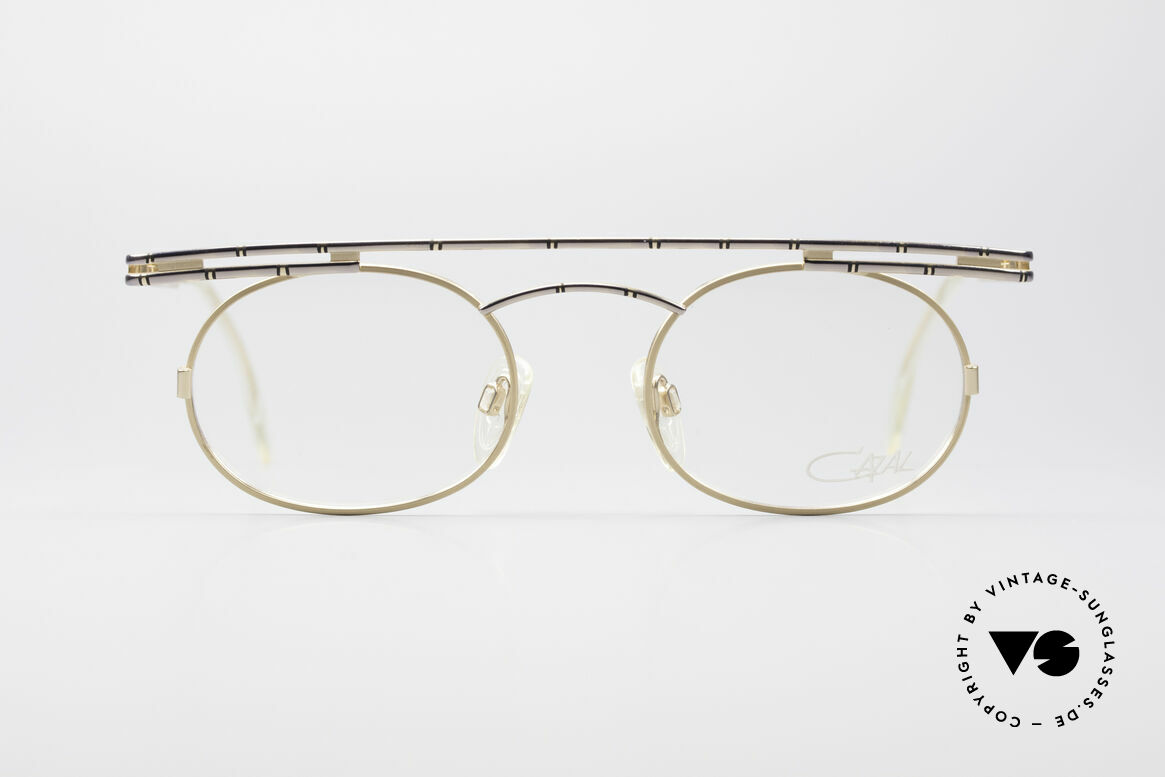 Cazal 761 NO Retro Glasses True Vintage, angular & round at the same time; a real eye-catcher, Made for Men and Women