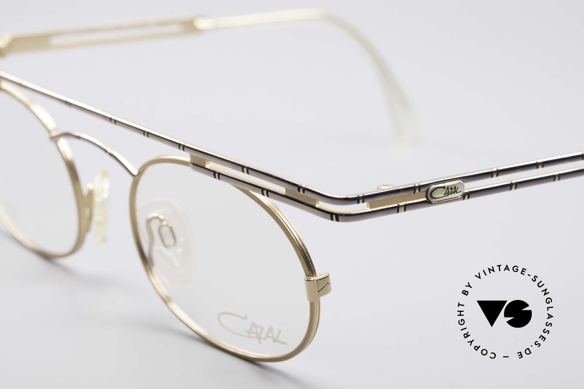 Cazal 761 NO Retro Glasses True Vintage, new old stock (like all our rare vintage Cazal specs), Made for Men and Women