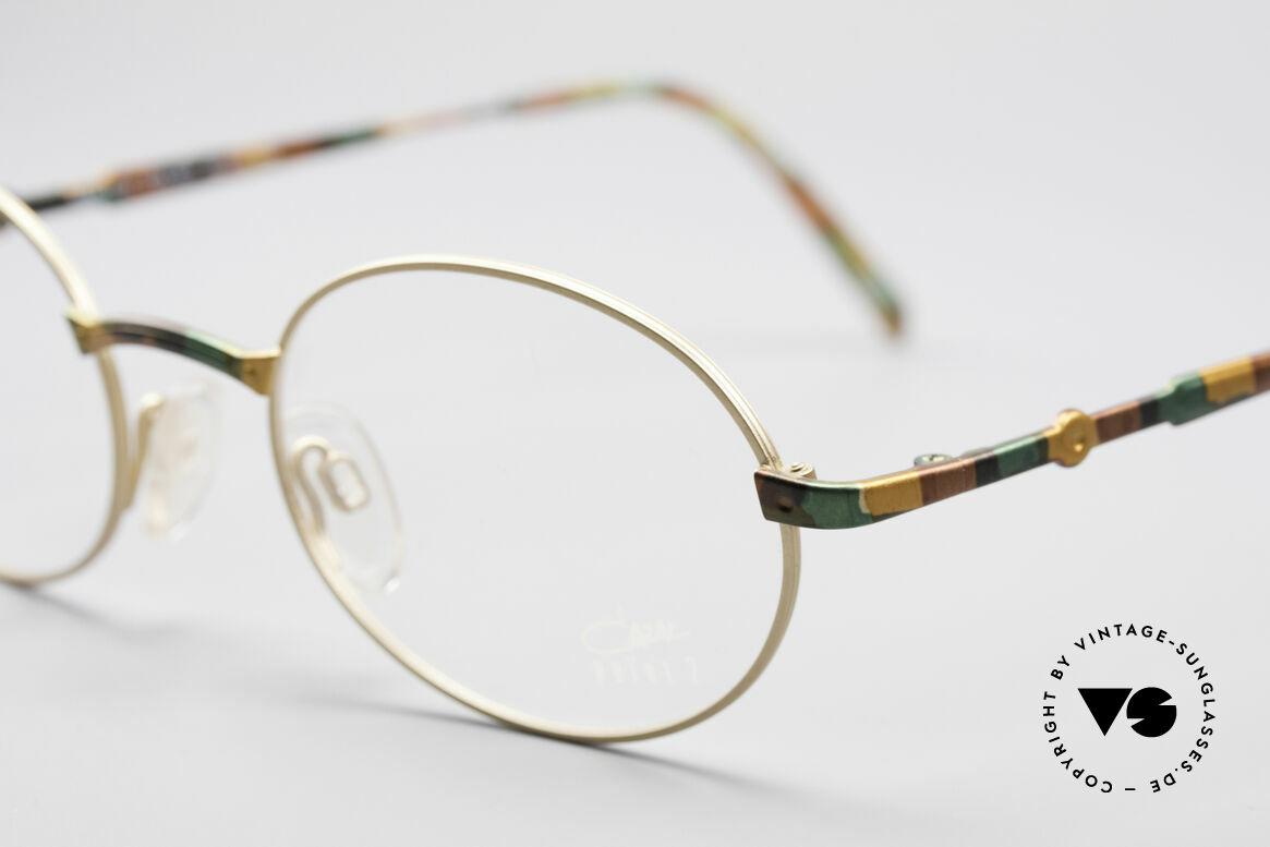 Cazal 1114 - Point 2 Round Vintage Eyeglasses