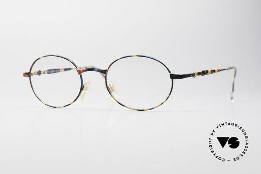 Cazal 1114 - Point 2 Round Oval Vintage Frame Details