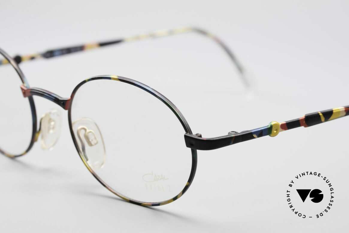 Cazal 1114 - Point 2 Round Oval Vintage Frame, lightweight frame (16g only), 1st class wearing comfort, Made for Men and Women