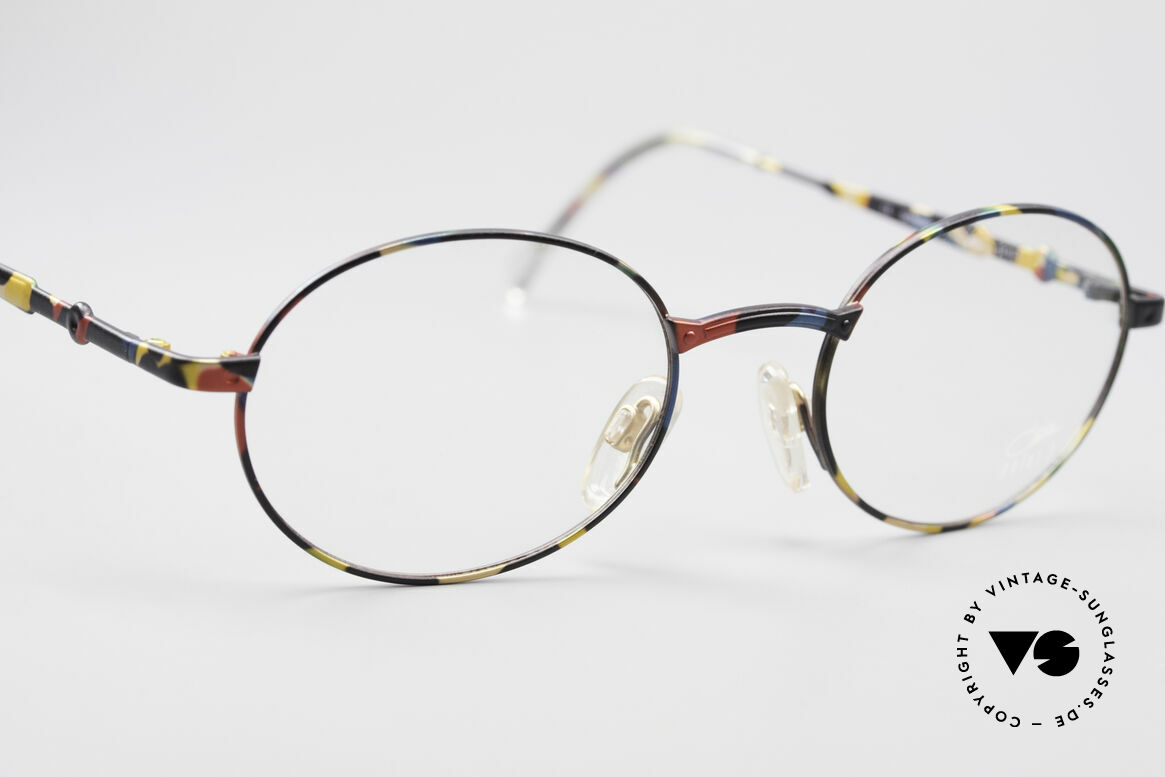 Cazal 1114 - Point 2 Round Oval Vintage Frame, never used (like all our vintage Cazal designer eyewear), Made for Men and Women