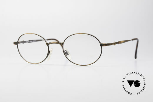 Cazal 1114 - Point 2 Oval Vintage Eyeglass Frame Details