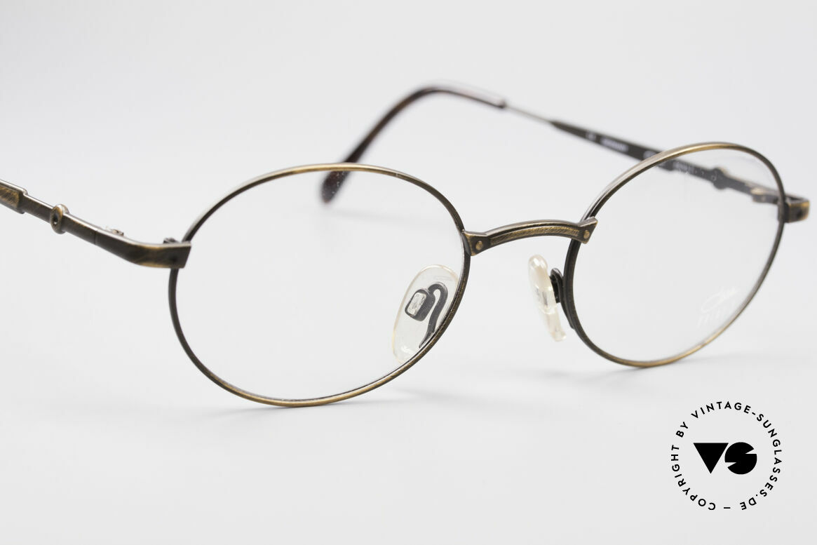 Cazal 1114 - Point 2 Oval Vintage Eyeglass Frame, lightweight frame (16g only), 1st class wearing comfort, Made for Men and Women