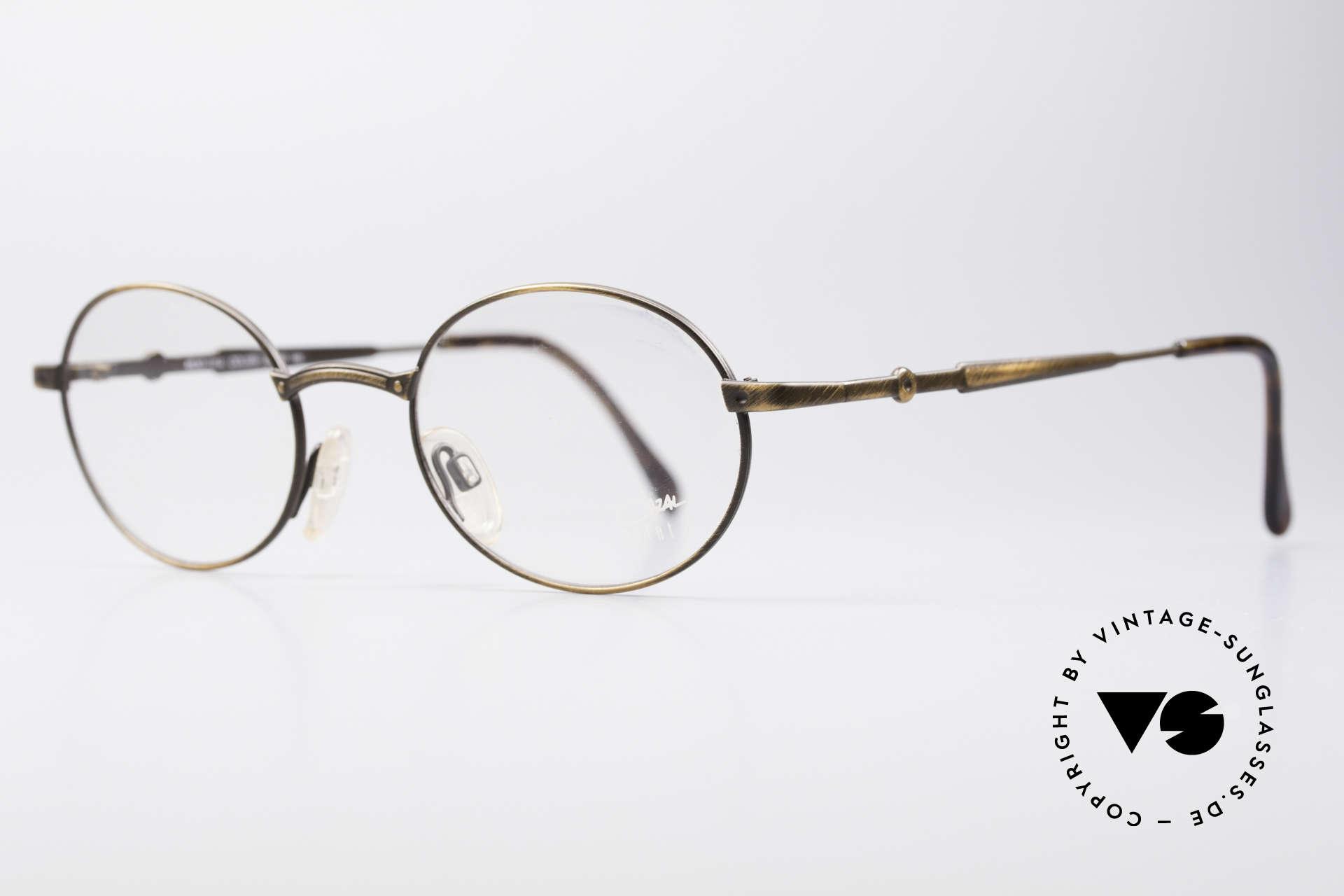 Cazal 1114 - Point 2 Oval Vintage Eyeglass Frame, never used (like all our vintage Cazal designer eyewear), Made for Men and Women