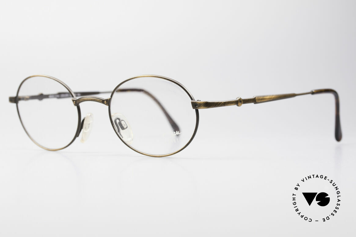 Cazal 1114 - Point 2 Oval Vintage Eyeglass Frame