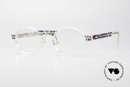 Cazal 510 Crystal Limited Vintage Glasses Details