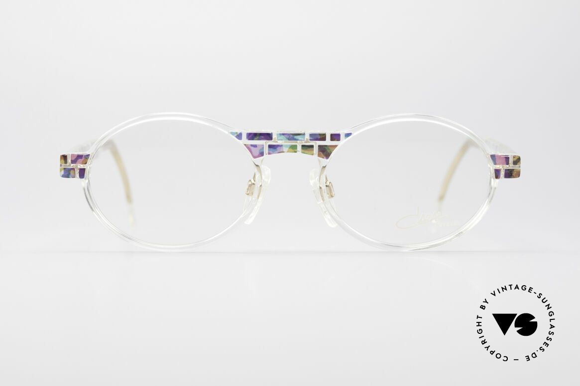 Cazal 510 Crystal Limited Vintage Glasses, made in the 90's as limited-lot production in Germany, Made for Men and Women