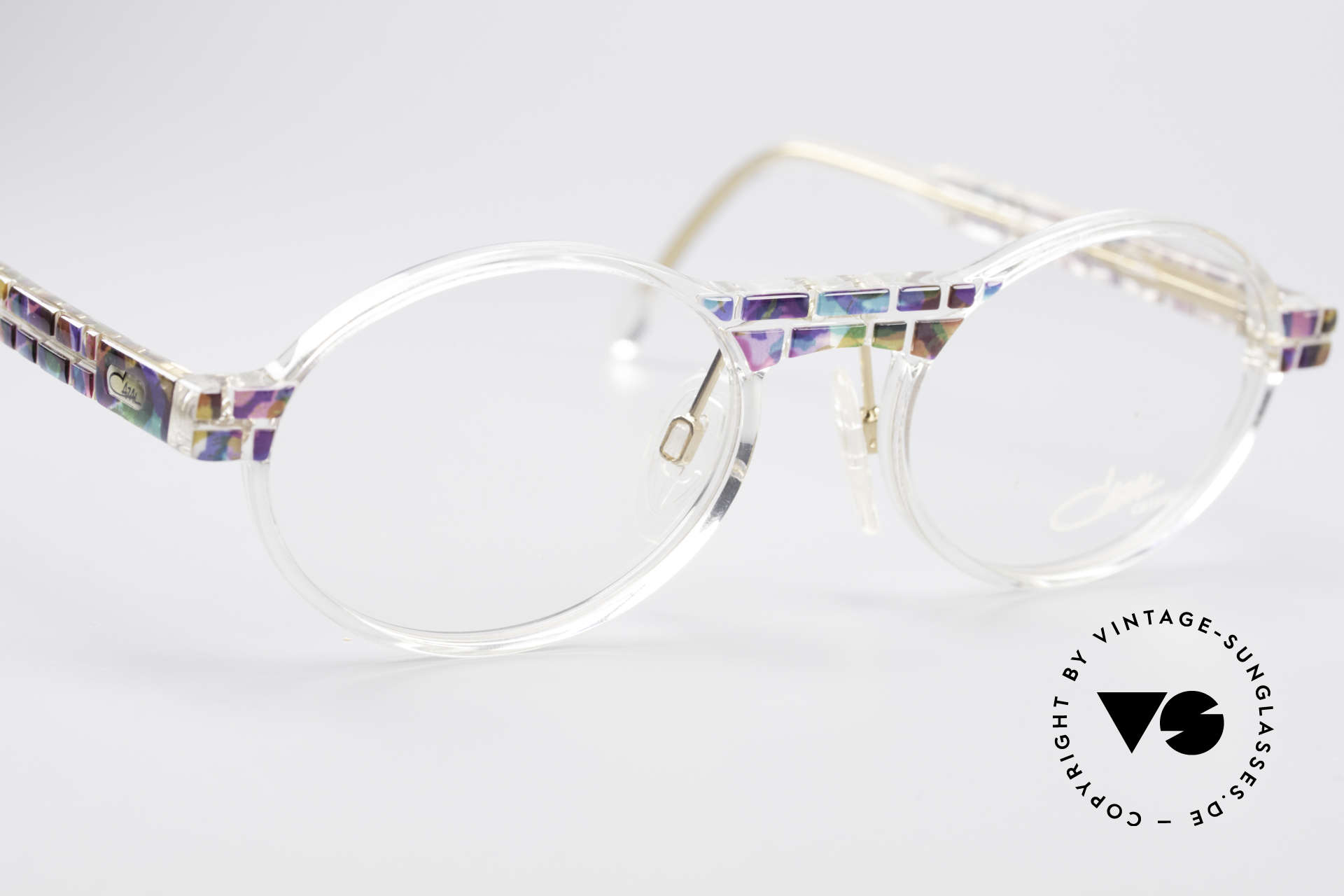 Cazal 510 Crystal Limited Vintage Glasses, unworn (like all our rare vintage Cazal Crystal frames), Made for Men and Women