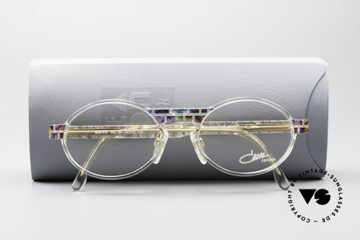 Cazal 510 Crystal Limited Vintage Glasses, demo lenses can be replaced with optical (sun)lenses, Made for Men and Women